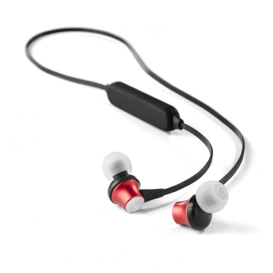 Słuchawki Bluetooth JODA czerwony (09074 04) Słuchawki
