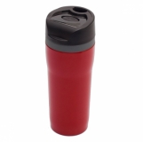Kubek izotermiczny Winnipeg 350 ml, czerwony z logo (R08394.08)