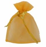 Worek na prezenty, złoty z nadrukiem (R22920.79)