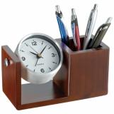 Zegar biurkowy z organizerem z logo (2291801)