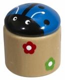 Temperówka Beetle, niebieski z logo (R73963.04)