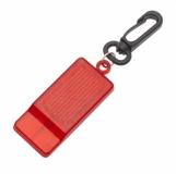 Gwizdek odblaskowy Whistle Reflect, czerwony z logo (R73209.08)