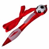 D�ugopis Soccer z nadrukiem, czerwony (R73336.08)