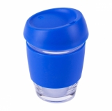 Szklany kubek Stylish 350 ml, niebieski  (R08278.04)