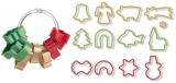 Foremki do wykrawania bożonarodzeniowe DELICIA, 13 szt. z logo (TS630902.0000)