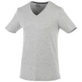 Slazenger Męski T-shirt Bosey z krótkim rękawem z dekoltem w serek (33021960)