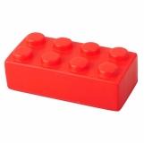 Antystres Block, czerwony z nadrukiem (R73917.08)