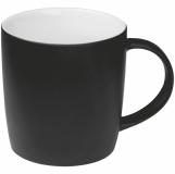 Kubek ceramiczny - gumowany z logo (8065403)