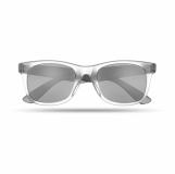 AMERICA TOUCH Lustrzane okulary przeciwsłoneczne z logo (MO8652-03)