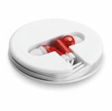 SONOSOFT Słuchawki w silikonowym pudełk z nadrukiem (MO8146-05)