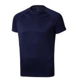 Elevate Męski T-shirt Niagara z krótkim rękawem z tkaniny Cool Fit odprowadzającej wilgoć (39010496)