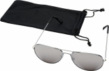Okulary przeciwsłoneczne Aviator z lustrzanymi, kolorowymi soczewkami (10060133)