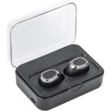 Bezprzewodowe słuchawki nauszne, power bank 2000 mAh (V3929-03)