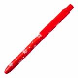 Długopis Snowy, czerwony z logo (X17156.08)