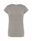 T-shirt Damski PREMIUM GRAY MELANGE (TSRL PRM GM)