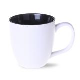 Kubek AMERICANO PURE 450 ml biało/czarny (M457_AL_A0450_0)