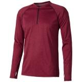 Elevate Męski T-shirt Quadra z długim rękawem z tkaniny Cool Fit odprowadzającej wilgoć (39023270)