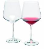 Zestaw 2 kieliszków do czerwonego wina WANAKA 2, 570 ml z logo (H1300500ZH166)