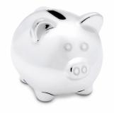 SILVY Ceramiczna świnka skarbonka z logo (IT3816-17)