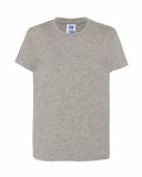 T-shirt dla dzieci 190 GRAY MELANGE (TSRK 190 GM)