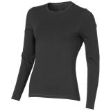 Elevate Damski T-shirt organiczny Ponoka z długim rękawem (38019955)