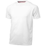 Slazenger Męski T-shirt Serve z krótkim rękawem z tkaniny Cool Fit odprowadzającej wilgoć (33019011)