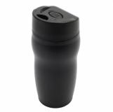 Kubek izotermiczny Edmonton 270 ml, czarny z logo (R08389.02)