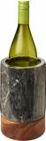 Avenue Chłodziarka do wina wykonana z marmuru i drewna Harlow (11299700)