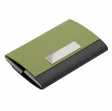 Wizytownik Comely, zielony z logo (R01066.05)