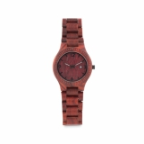 SAN GALLEN Zegarek drewniany na rękę z logo (MO9582-01)
