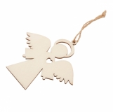 Ozdoba choinkowa Angel, beżowy  (X91019.13)