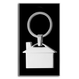 """Brelok do kluczy """"domek"""" (V2084/A-32)"""