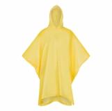 Peleryna przeciwdeszczowa dla dorosłych Rainfree, żółty z logo (R74035.03)