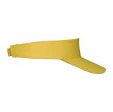 Daszek przeciwsłoneczny Aveiro, żółty z logo (R08752.03)