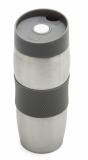 Kubek izotermiczny Harbin 350 ml, szary z logo (R08285.21)
