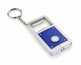 Brelok otwieracz z diodą LED niebieski (17164-03)