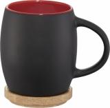 Avenue Ceramiczny kubek Hearth z drewnianym wiekiem/spodeczkiem (10046602)