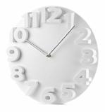 Zegar ścienny MAURO biały (03062-01)