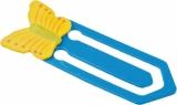 Zakładka Butterfly, niebieski z logo (R73986)