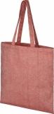 Pheebs Torba na zakupy z bawełnianym sznurkiem ściągającym z recyklingu o gramaturze 210 g/m &sup2 (12052191)
