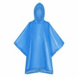Peleryna przeciwdeszczowa dla dzieci Rainbeater, niebieski z logo (R74038.04)
