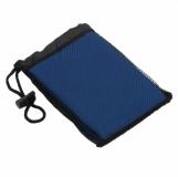 Ręcznik sportowy Frisky, niebieski z logo (R07980.04)