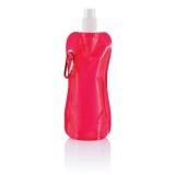 Składana butelka sportowa 400 ml z karabińczykiem (P436.200)