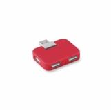 SQUARE Hub USB 4 porty z logo (MO8930-05)