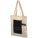 Bawełniana, zwijana torba zapinana na guzik Snap 180 g/m? (12040700)