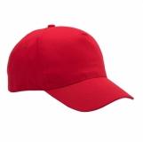 Czapka dziecięca Daily, czerwony z logo (R08714.08)