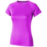 Elevate Damski T-shirt Niagara z krótkim rękawem z tkaniny Cool Fit odprowadzającej wilgoć (39011205)