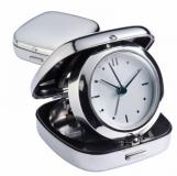 Zegar biurkowy z budzikiem z logo (4150707)