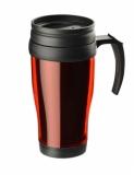 Kubek termiczny CLASSIC COLOR 400 ml czerwony (17613-04)