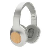 Bambusowe, bezprzewodowe słuchawki nauszne Dakota (P329.232)